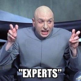 The folly of experts