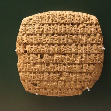 Fragments from Sumerian wisdom texts